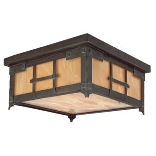 "Oak Knoll Collection 14"" Wide Indoor   Outdoor Ceiling Light   #72442"