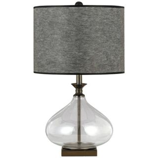 Funnel Glass Table Lamp   #N4546