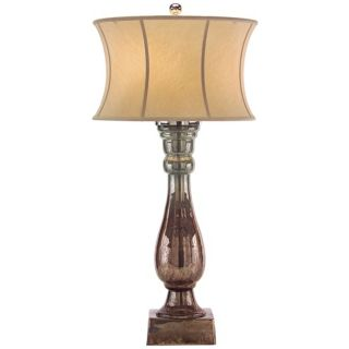 John Richard Hand Blown Glass Table Lamp   #X5505