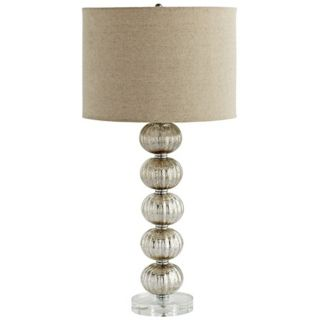 Aria Crackle Glass Table Lamp   #X6308