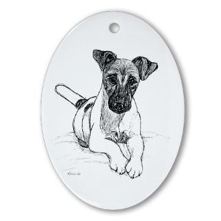 Smooth Fox Terrier Christmas Ornaments  Unique Designs