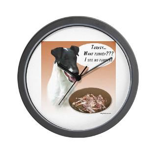 Smooth Fox Terrier Clock  Buy Smooth Fox Terrier Clocks