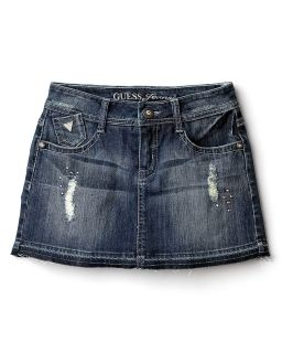 GUESS Kids Girls Denim Skort   Sizes 7 16