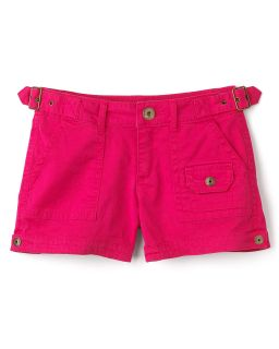 GUESS Kids Girls Military Short Shorts   Sizes 7 16