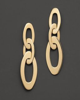Roberto Coin 18 Kt. Yellow Gold Chic and Shine Earrings