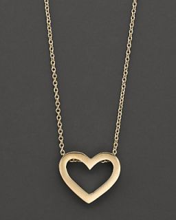 Roberto Coin 18 Kt. Yellow Gold Tiny Treasure Heart Necklace, 18