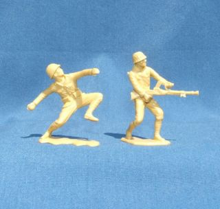 1963 Vintage Marx Japanese WWII World War 2 Toy Soldiers 4