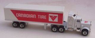 Kenworth Semi Truck Cab N Trailer Canadian Tire Matchbox Macau 1 100