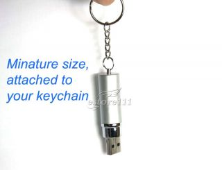 8GB Voice Activated USB Flash Drive SHQ Digital Voice Recorder 25hrs
