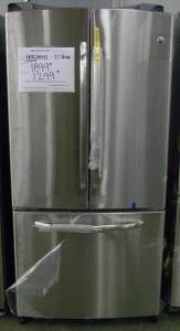 New GE French Door Stainless Steel Refrigerator