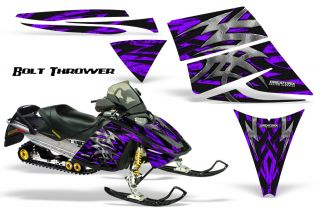 Ski Doo Rev MXZ 03 09 Snowmobile Sled Graphics Kit Wrap Decals