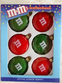 Kurt Adler M MS Candy Ornament Christmas MM0106