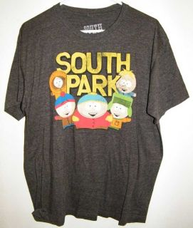 South Park T Shirt Cartman Kyle Kenny Poor Condition