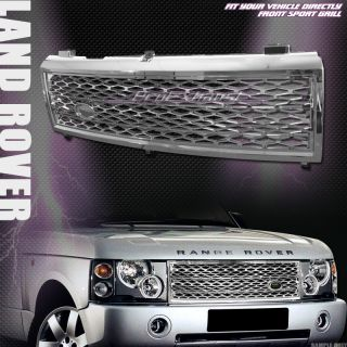 Mesh Front Hood Bumper Grill Grille 2003 2005 Land Range Rover