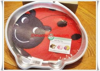 Wilton Lady Bug Character Cake Pan 2105 3316 New