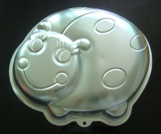 Ladybug Beetle Cake Pan Mold Aluminum Baking Mould Fondant Modelling