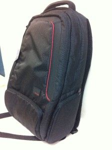 Belkin Inc EVO Black Red Backpack Fits Laptops with Screen Sizes Up to