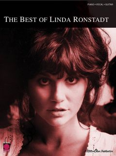 The Best of Linda Ronstadt Piano Vocal Guitar Song Book