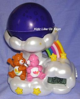 Care Bears Night Light Projection Alarm Clock