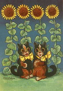 Louis Wain (1860 1939), an English artist who specialized in pictures