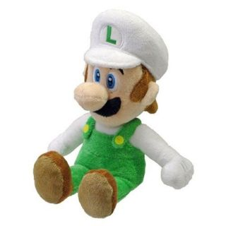 Official Sanei Super Mario Plush Series Plush Doll Fire Luigi