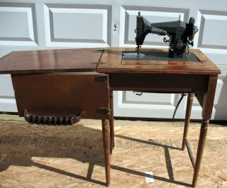 1954 Kenmore Cabinet Style Antique Sewing Machine
