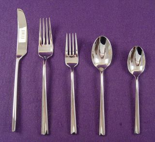 Pristine LENOX for KATE SPADE 18/10 Stainless Steel Flatware Set MALMO