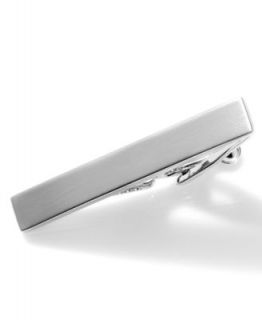 Kenneth Cole Reaction Tie Clip, All Tied Up Polished Silver   Mens