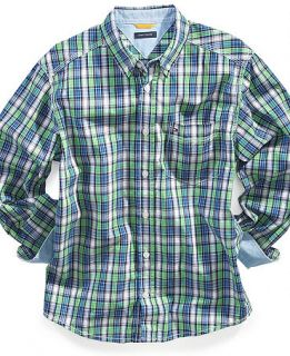 Hilfiger Kids Shirt, Boys Donald Plaid Shirt   Kids Boys 8 20