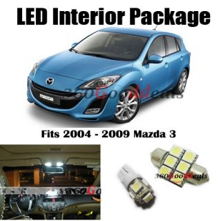Lights Bulb Interior Package Deal for Mazda 3 SPEED3 Mazdaspeed