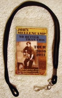 VIP John Mellencamp NO BETTER THAN THIS Tour SHIRT XXL 2XL + TOUR