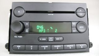 Ford Fusion Mercury Milan  Radio CD Player 6E5T 18C869 AG 2006 06