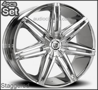 24inch Lexani Johnson Wheels Rims for Lexus Impala Honda Auio Jaguar