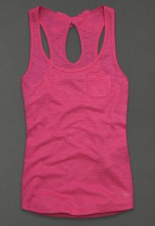 BNWT Abercrombie Fitch Meg Cami Bow Tank Top White or Pink