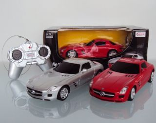 Scale 124 Mercedes Benz SLS AMG Radio Remote Control Model Car R/C