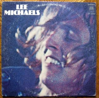 Lee Michaels Self Titled VG VG LP Record 1969 A M SP 4199
