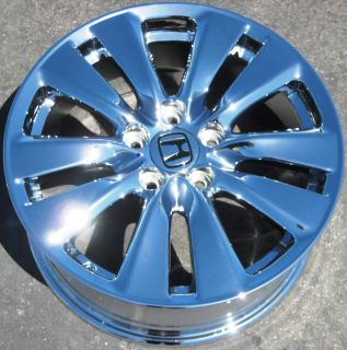 FACTORY HONDA ACCORD CHROME WHEELS RIMS 2011 EXCHANGE  714 940 1761