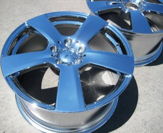 18 Factory Mercedes Benz E350 E550 Chrome Wheels Rims 2010 13