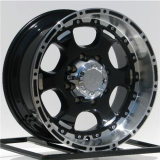 18 inch Black Wheels Rims Ford Truck F 250 350 F250 F350 Super Duty 8