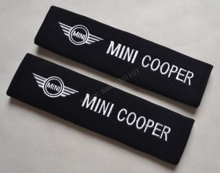 Mini Cooper Car Seat Belt Shoulder Pads Covers Cushion