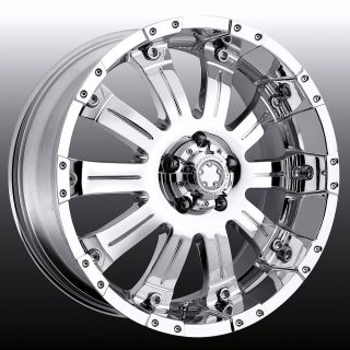20x9 Ultra Motorsport Chrome Wheels Rims Toyota Tundra Sequoia Lexus