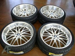 20 BMW Wheels Rim Tires 750i 750LI 760i 760LI x5 x6 M
