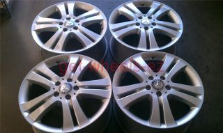 18 Mercedes Benz ML500 R500 Silver Wheels Rims 6536