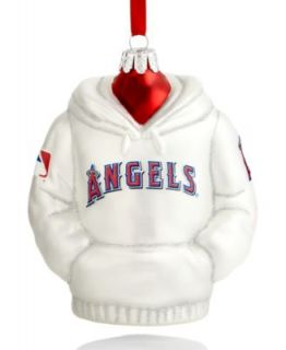 Kurt Adler Christmas Sports Ornament, Angels Glass MLB Baseball