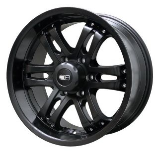 18x9 HD Tuning Satin Black Wheels Rims 6x135 25 Ford F150 Expedition