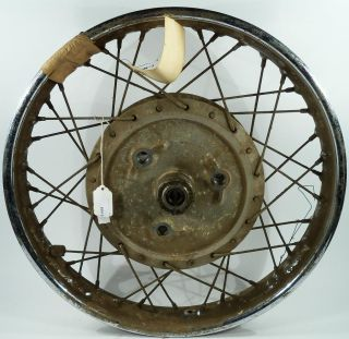 Norton Atlas W3 18 inch Rear Motorcycle Wheel Hub Brake Drum