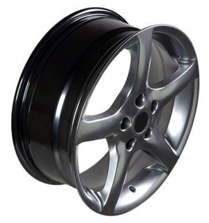 17 Rims Fit Nissan Altima 05 Wheels Black Set