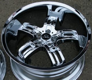 Lorenzo WL026 20 Chrome Rims Wheels Mercedes SL550 SL55