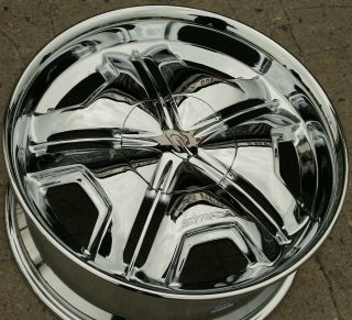 Cambio 20 Chrome Rims Wheels Lincoln Navigator 20 x 8 5 6H 20