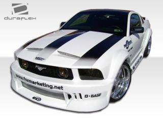 2005 2009 Ford Mustang Duraflex Hot Wheels Widebody Front Bumper Body